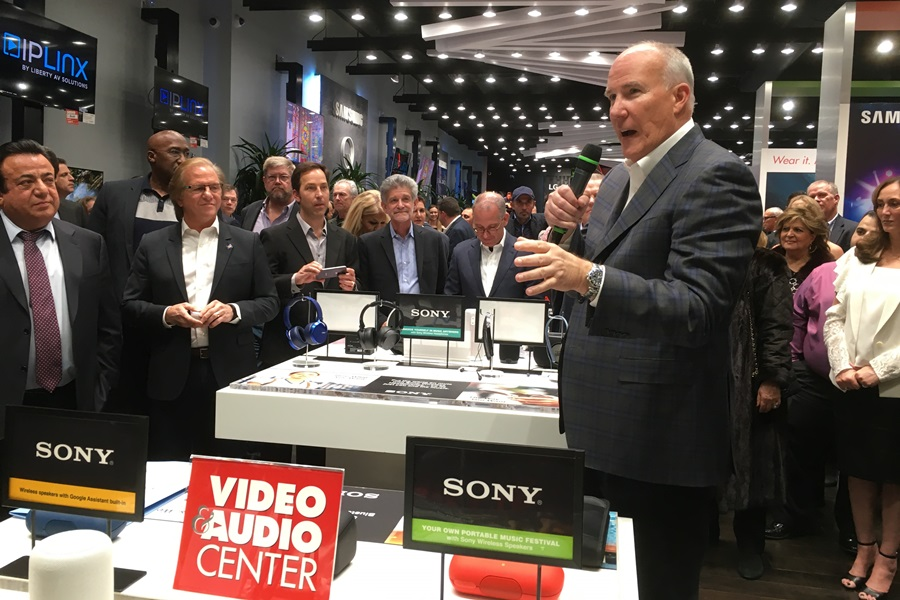 Video and Audio Center Flagship Store Opening, Jan. 25, 2018