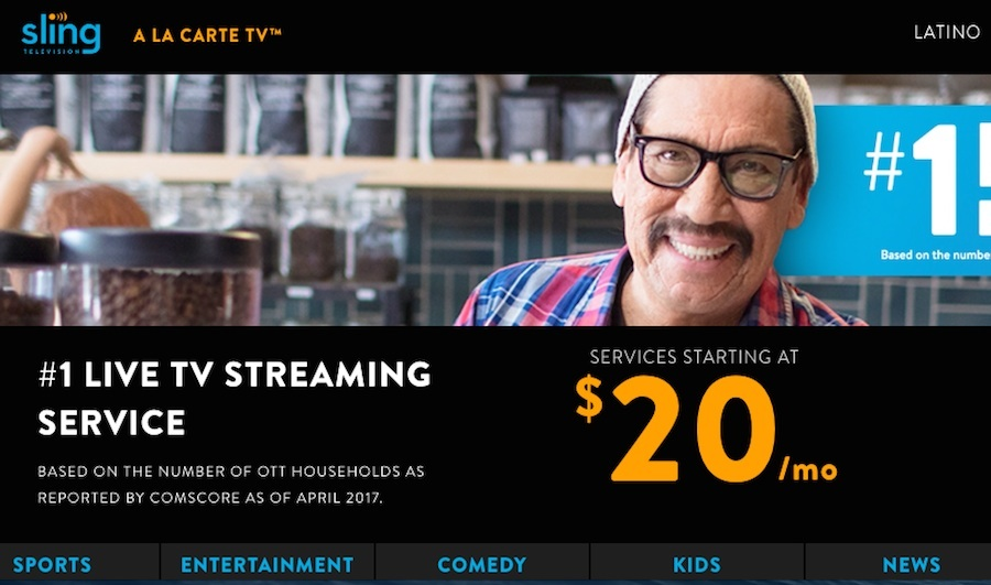 Sling TV Partners With comScore on Advertising Measurement
