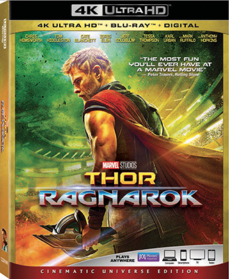 'Thor: Ragnarok' on Digital HD Feb. 20, Disc March 6
