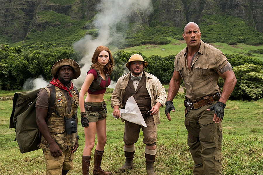 'Jumanji: Welcome to the Jungle' on Home Video in March