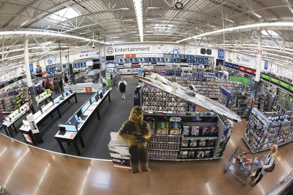 Walmart Covering the Digital Spectrum — at the Retail Store