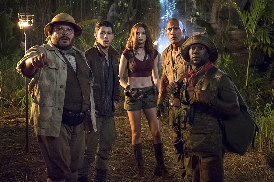 'Jumanji' Ventures to No. 1 on Home Video Charts