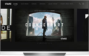 Starz Bows App on LG Televisions