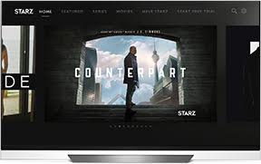 Starz Bows App on LG Televisions