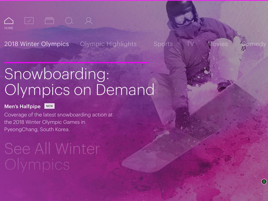 Hulu: 63% of Live TV Subs Streamed Winter Olympics