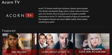 Combined Subscribers for RLJ's Acorn TV and Urban Movie Channel Surpass 800,000