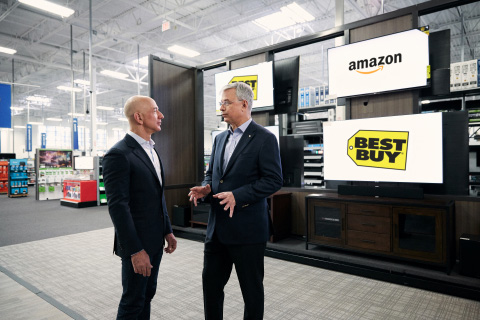 Best Buy Embedding Amazon Fire Streaming Player in Branded TVs