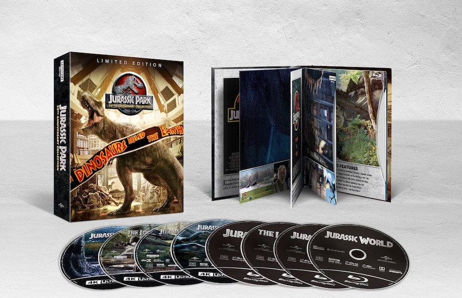 'Jurassic Park 25th Anniversary Collection' coming May 22 from Universal