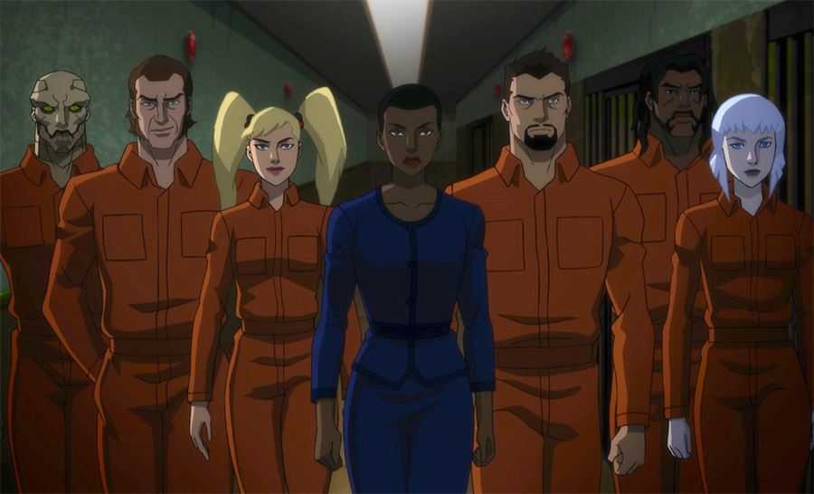Animated 'Suicide Squad' Has Fun With the Bad Guys