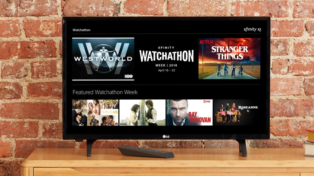 Comcast Returns 'Watchathon' Binge-Viewing Week