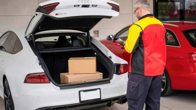 Amazon Bows In-Car Delivery