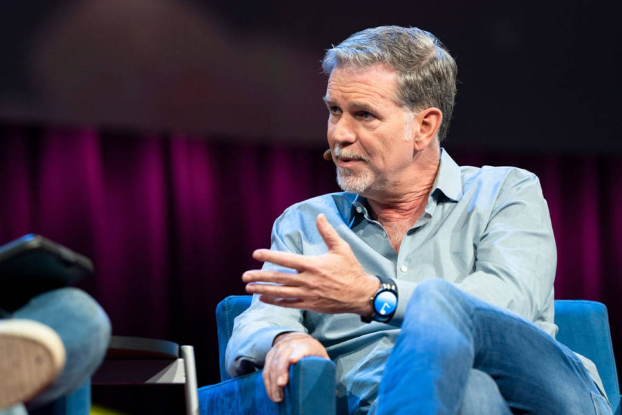 Netflix Turns 21, Co-Founder Reed Hastings Talks Facebook
