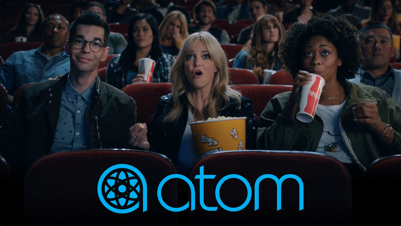 Atom Tickets Bows First National TV Ad Featuring Anna Faris
