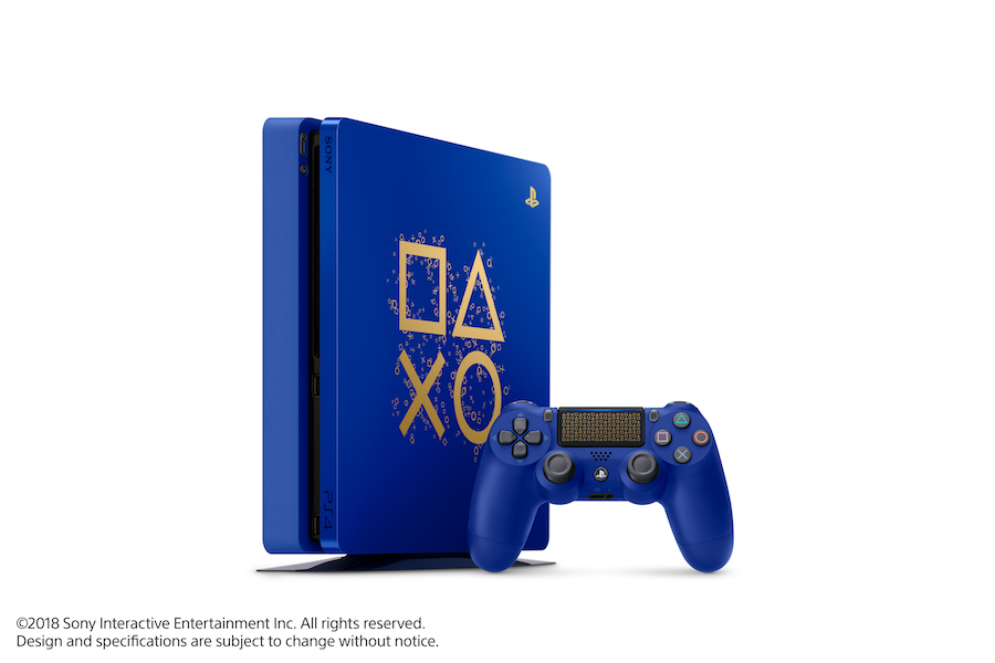 Sony Promotion Includes Limited Edition Blue PS4