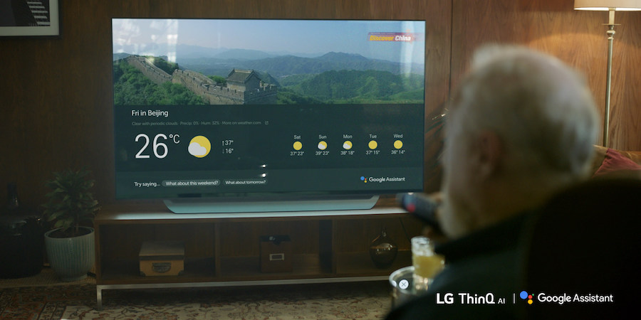 LG's AI TVs Incorporate Google Assistant