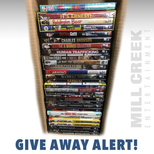 Mill Creek Bows 'Spring Cleaning' DVD Giveaway
