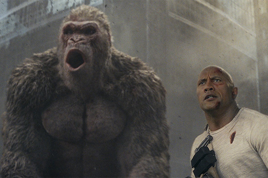 'Rampage', 'I Feel Pretty' Take Two Top Spots on Redbox Chart