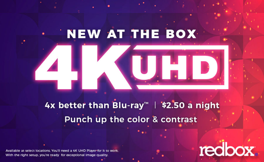 Redbox Launches 4K Ultra HD Rentals in Six Test Markets