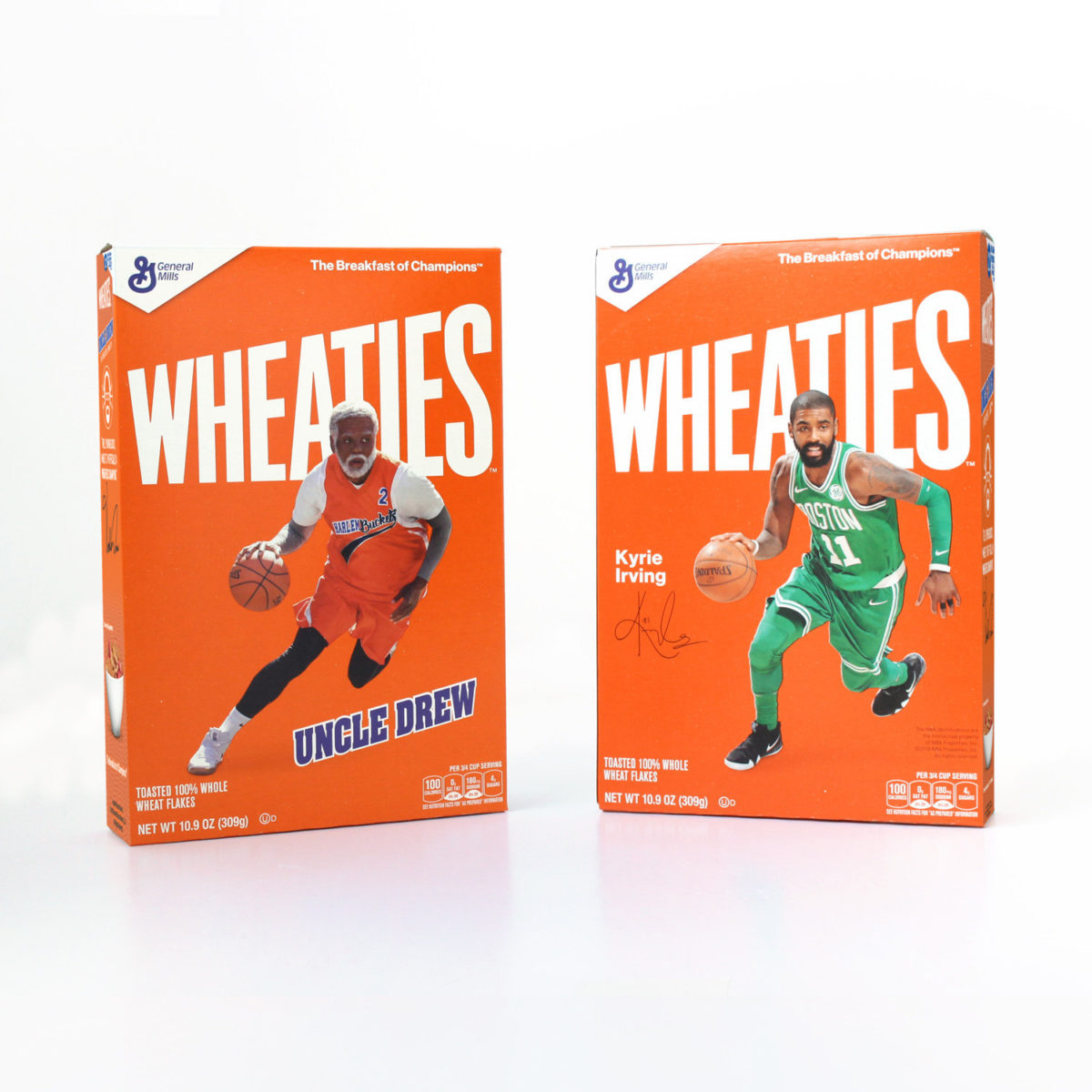 Wheaties Bowing Cereal Box for New Lionsgate Movie
