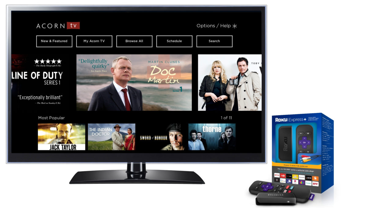 Acorn TV Streaming in Mexico — via Banned Roku Devices?