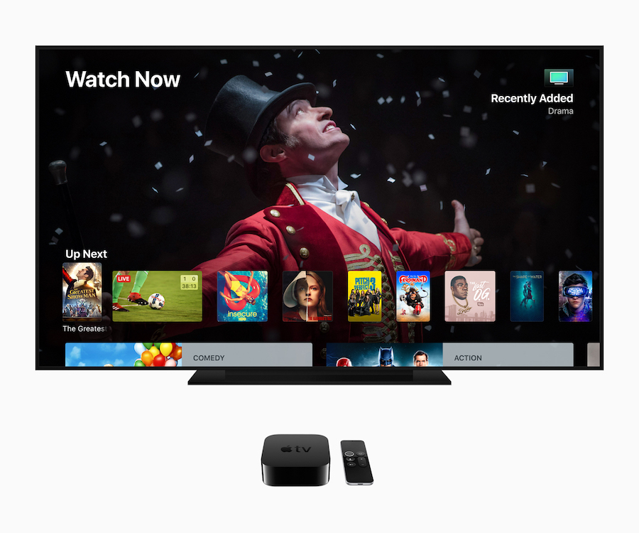 Apple Previews New Operating System for Apple TV 4K, Announces Deal With Charter