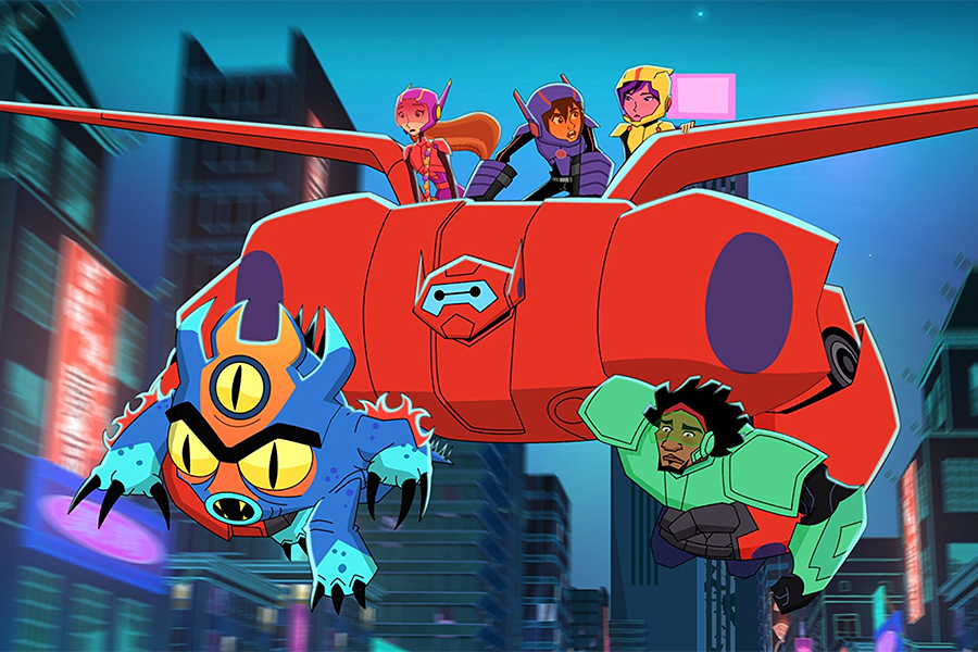 Disney Releasing First 'Big Hero 6: The Series' DVD June 26