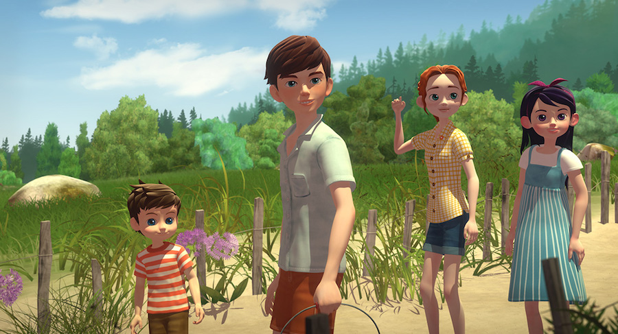 Animated Film 'The Boxcar Children: Surprise Island' Due on Disc From Shout! Factory Aug. 7