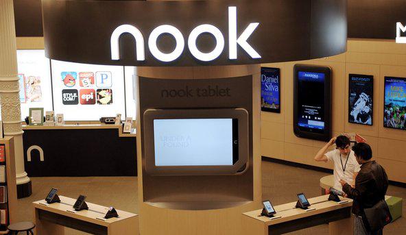 Barnes & Noble Nook Narrows Fiscal Loss