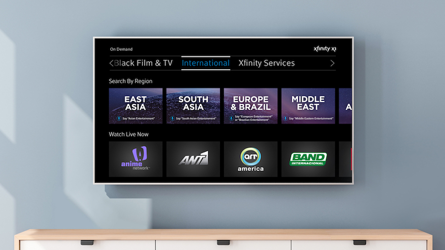 Comcast Expands Xfinity TV International Content