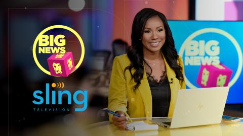 Sling TV Adds 'Cheddar Big News'