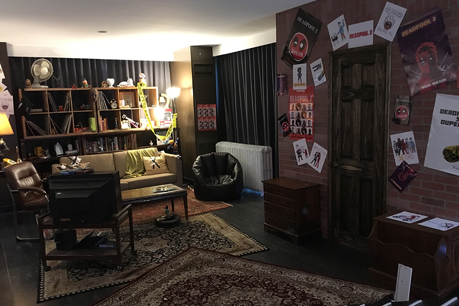 Fox, Vudu Show Off 'Deadpool's Dream Suite' at Comic-Con