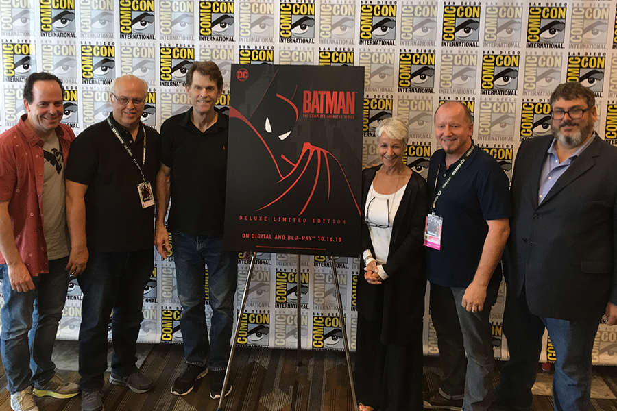 'Batman: The Animated Series' Earns Fond Reflections as It Heads to Blu-ray
