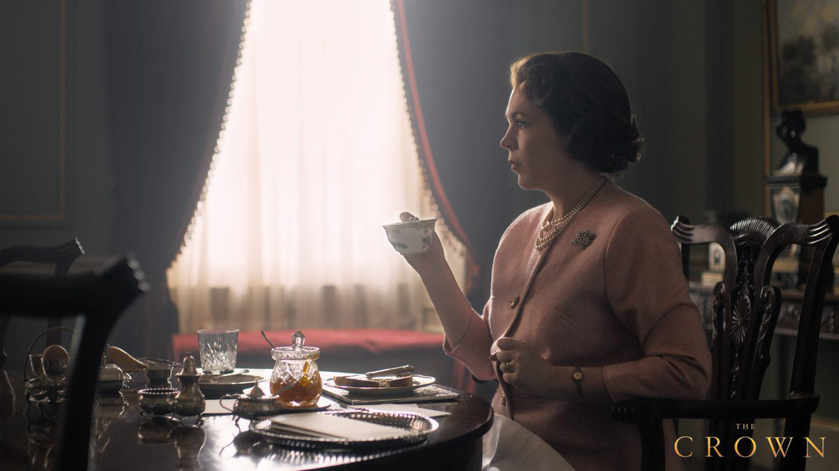 Netflix Releases First Screen Shot of Olivia Colman as the Queen in 'The Crown'