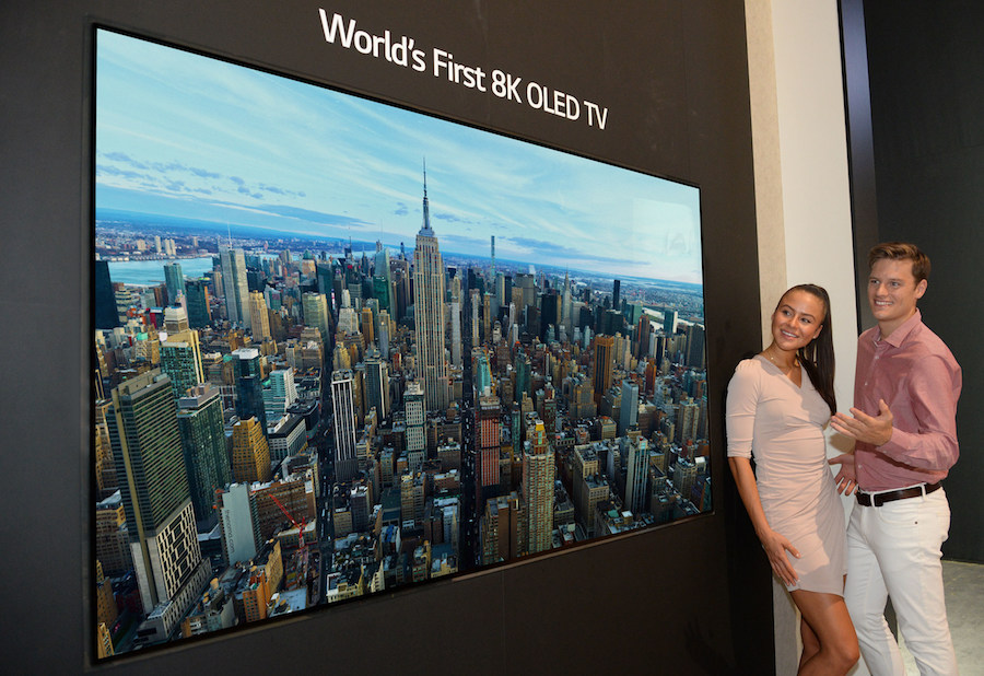 LG Introduces 'World's First' 8K OLED TV