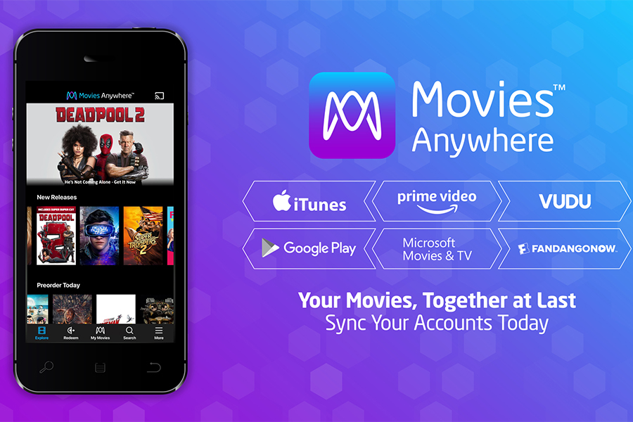 Movies Anywhere Celebrates First Birthday With 6 Million Users and 150 Million Movies Collected