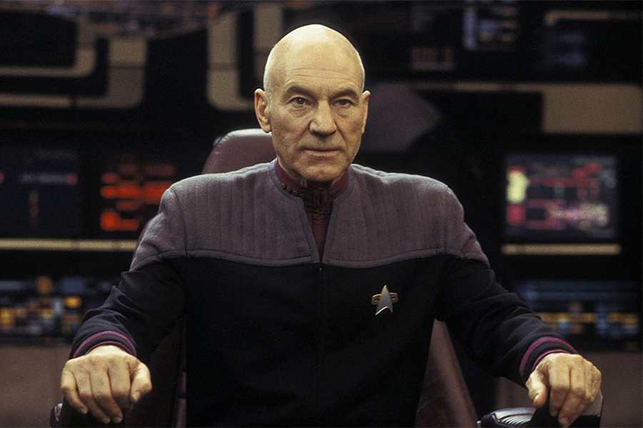 Patrick Stewart to Return as Capt. Picard for New CBS All Access 'Star Trek' Project