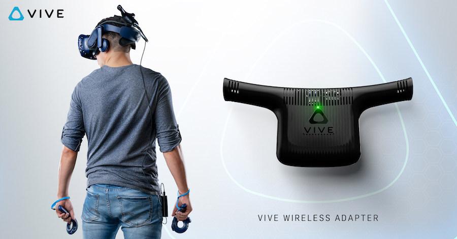 VR Platform HTC Vive Unleashing Wireless Adapter