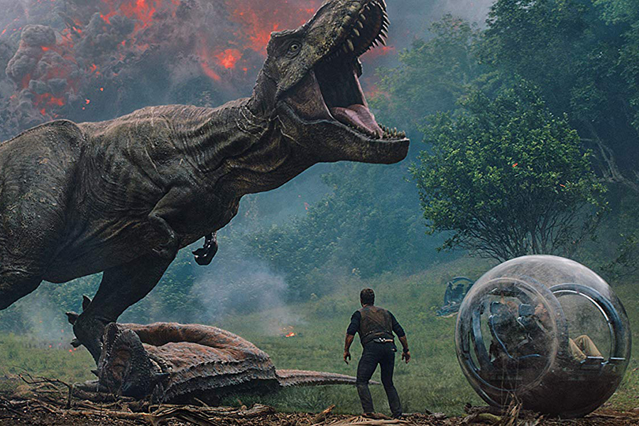 'Jurassic World: Fallen Kingdom' Debuts at No. 1 on Home Video Charts