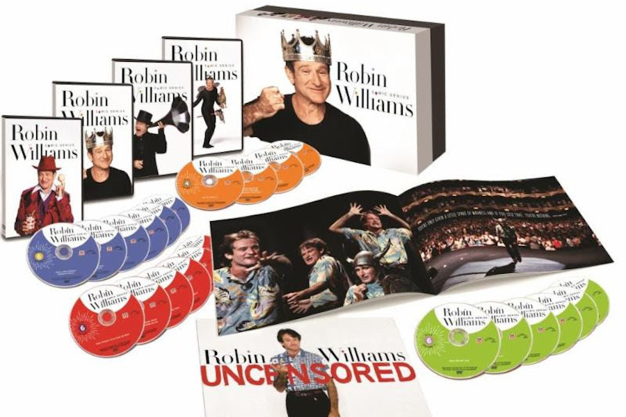 Time Life Bows 'Robin Williams: Comic Genius' DVD Collection