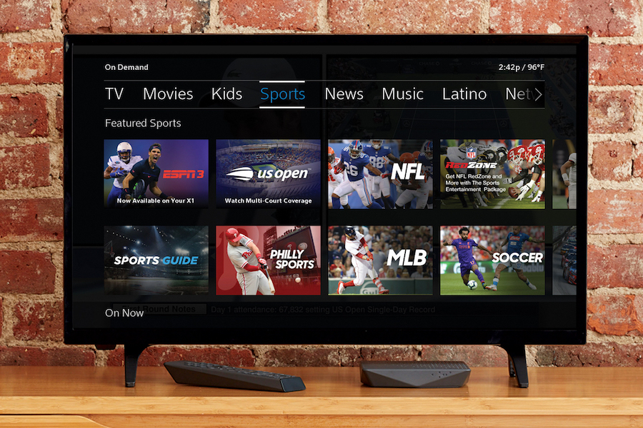 Comcast and ESPN Announce Launch of Sports Networks on Xfinity X1