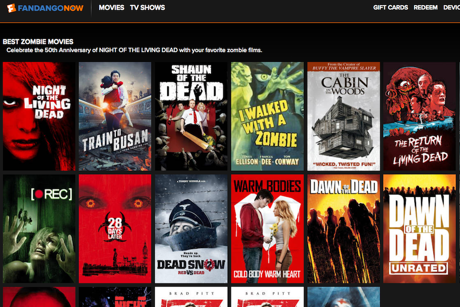 FandangoNow Unveils 25 'Freshest' Zombie Movies List to Celebrate 'Living Dead' Anniversary