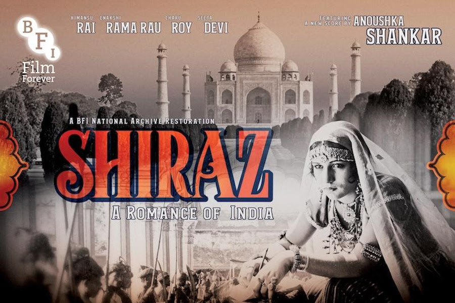 Silent 'Shiraz: A Romance of India' Coming on Disc Under New Label From Juno Films and MVD