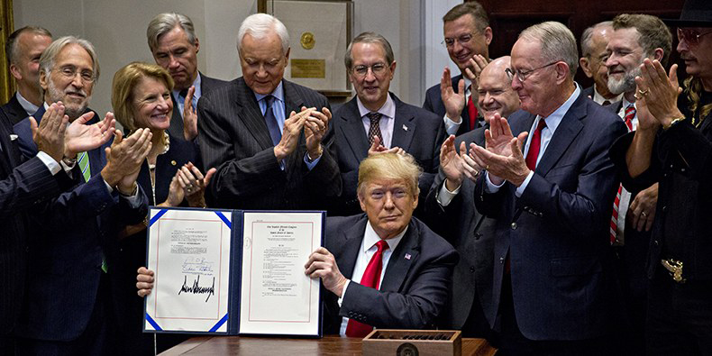 Trump Signs 'Music Modernization Act', Easing Legal Requirements for Streaming Services