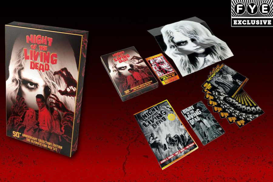 FYE Chain Bows Exclusive Collector's Edition of 'Night of the Living Dead' for Film's 50th