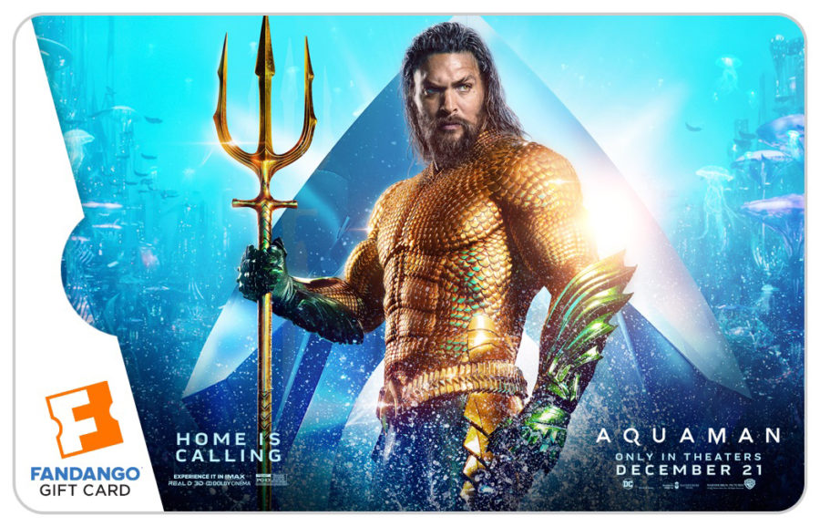 Fandango Including Free Digital Comics with 'Aquaman' Theatrical Ticket Purchase