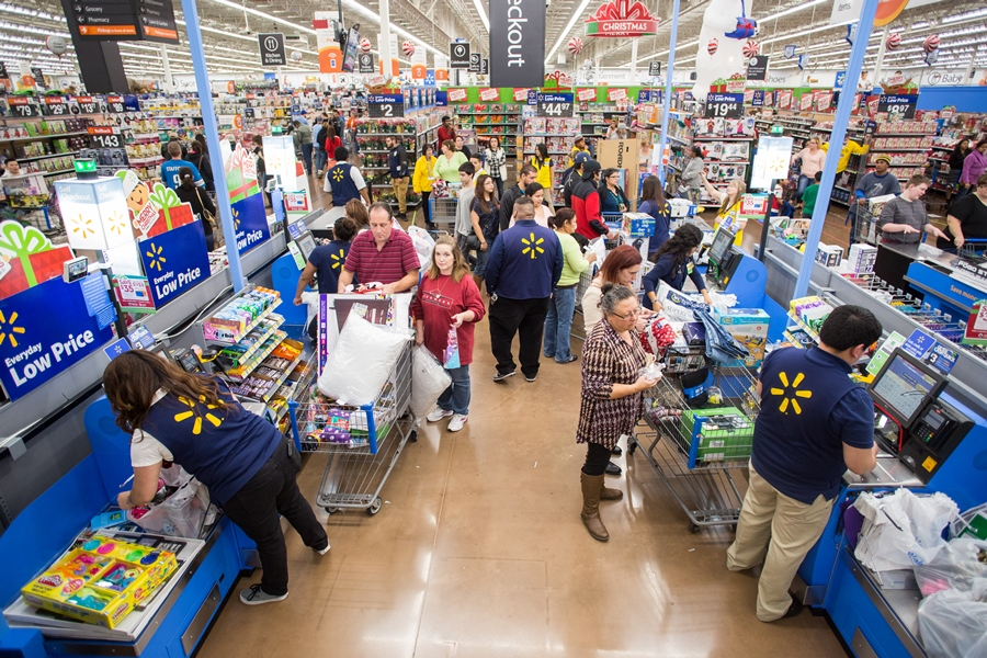 Walmart Offering Earlier Deals, Snacks, Maps for Black Friday Shopping
