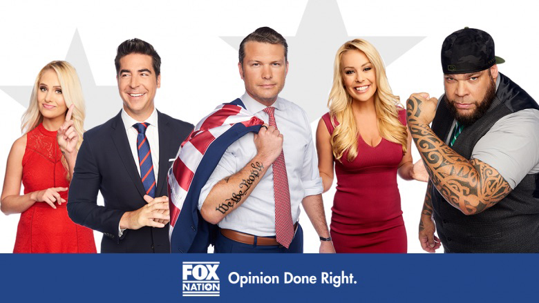 'Fox Nation' SVOD Service Goes Live