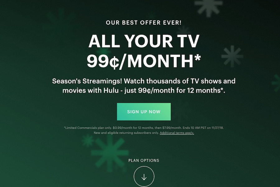 Hulu Extends 99 Cents Per Month Deal