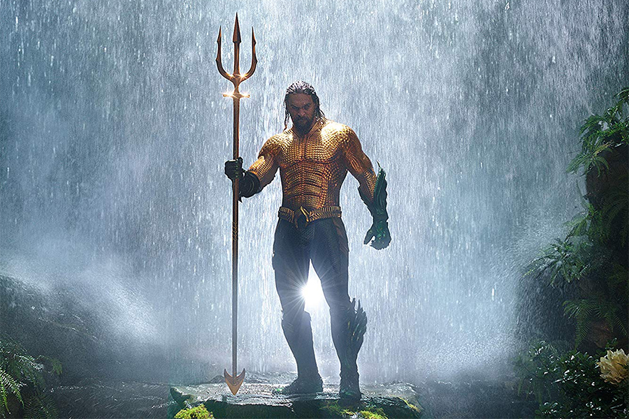 'Aquaman' Makes Another Splash on FandangoNow Chart
