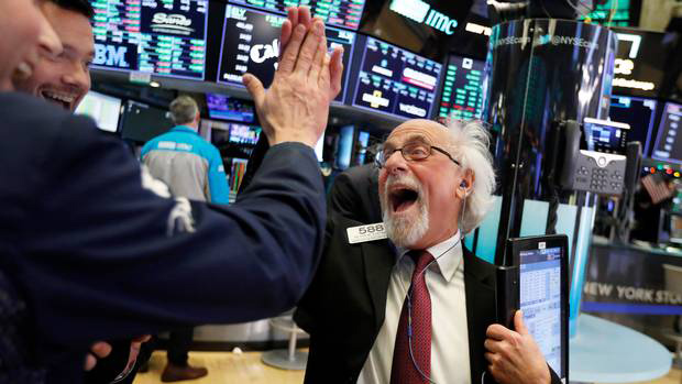 Record Dow Jones Market Surge Results in Big Gains for Entertainment Tech